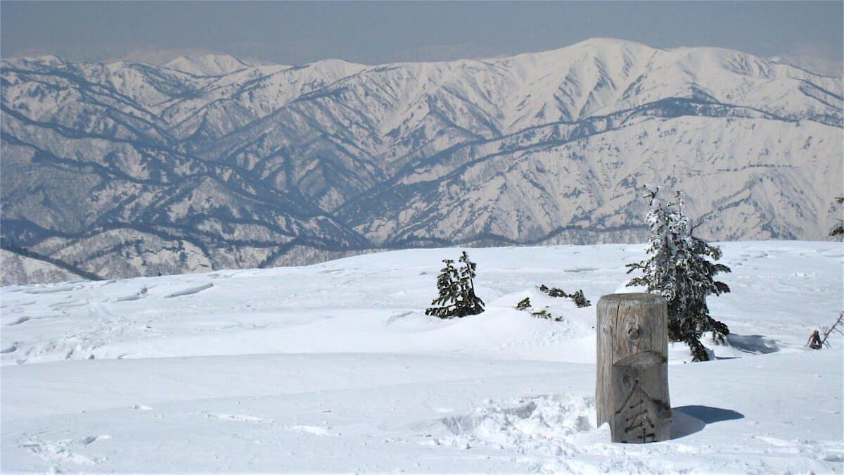 冬の会津駒ケ岳