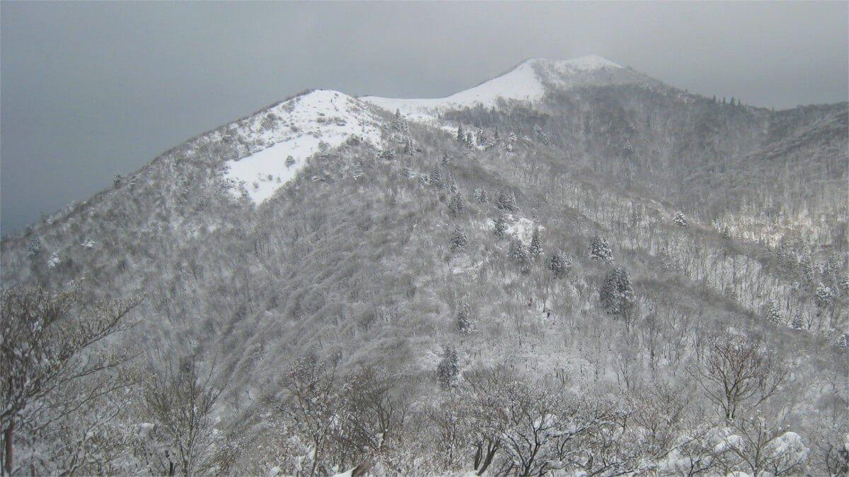 冬の武奈ヶ岳