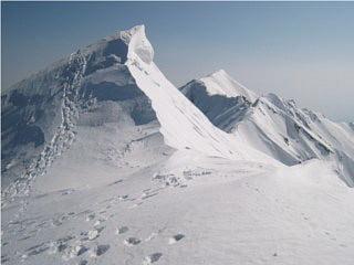 弥山と剣ヶ峰