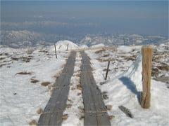 姥ヶ岳山頂