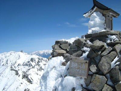 奥穂高岳山頂