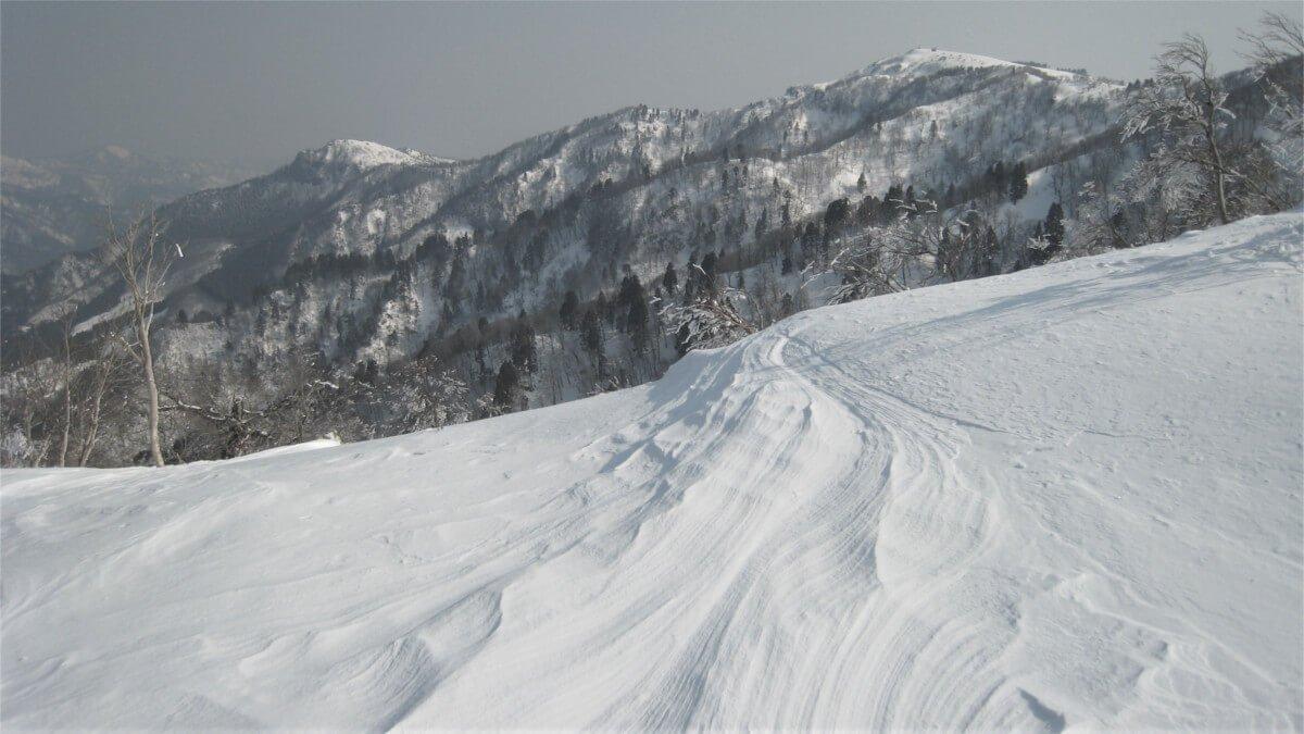 冬の氷ノ山