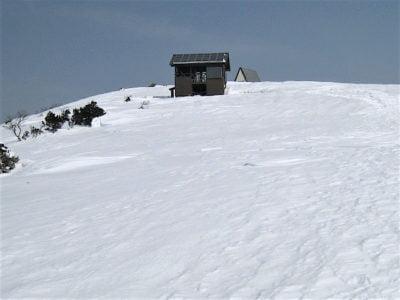 氷ノ山山頂の手前