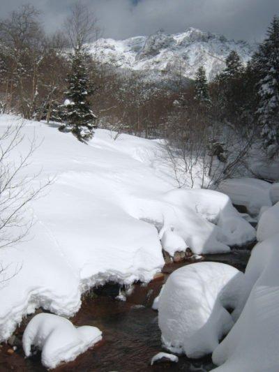北沢登山道