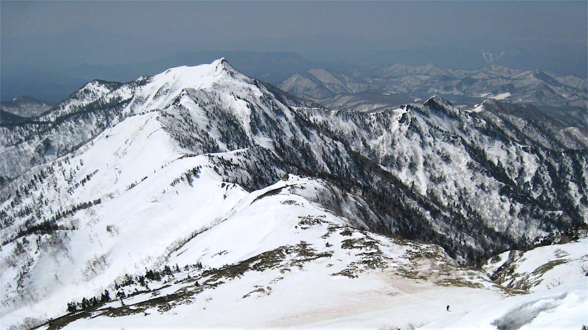 冬の武尊山