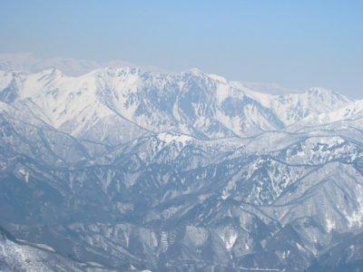 谷川岳方面