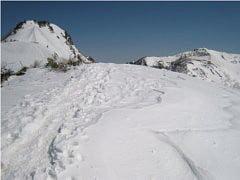 剣ヶ峰と武尊山