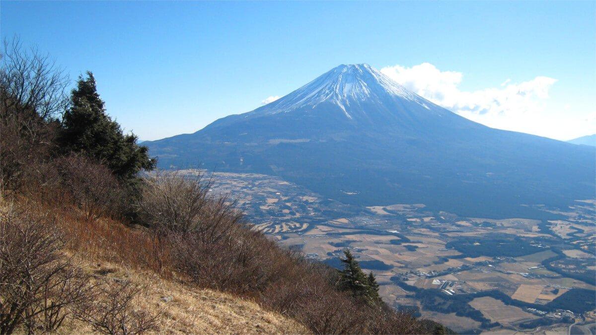 毛無山より富士山