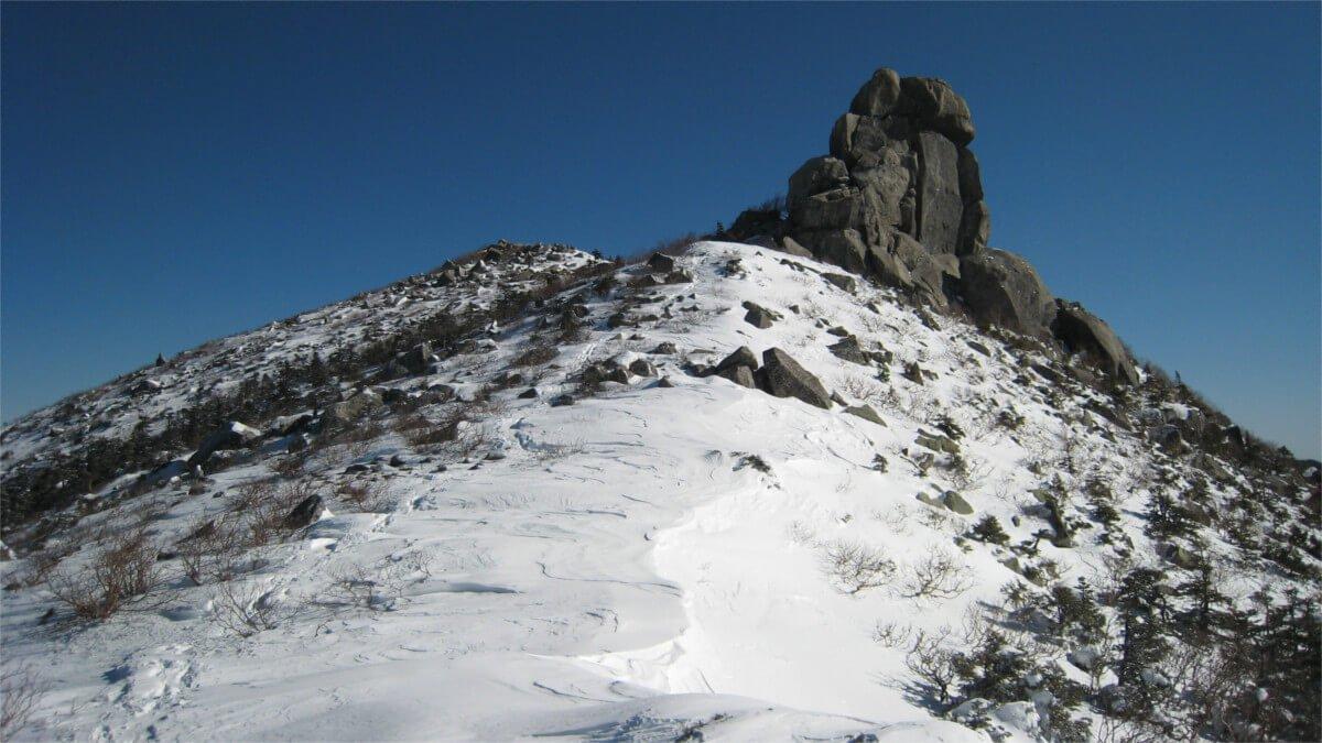 金峰山五丈岩
