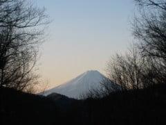富士見平小屋からの富士山
