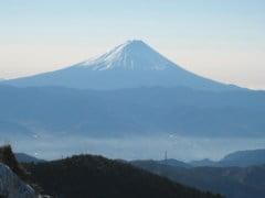 砂払いノ頭付近からの富士山