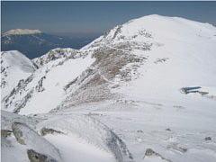 中岳から木曽駒ケ岳