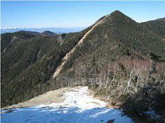 木賊山から甲武信山