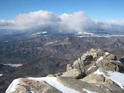 瑞牆山山頂から見る八ヶ岳
