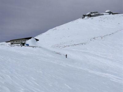 肩の小屋とコロナ観測所