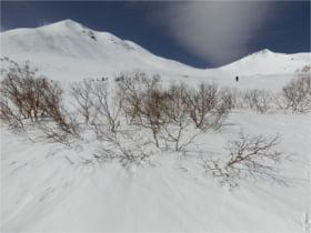 剣ヶ峰と摩利支天岳