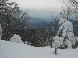 大天井ヶ岳山頂