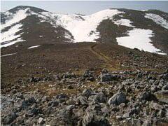 霊仙山最高点・霊仙山山頂