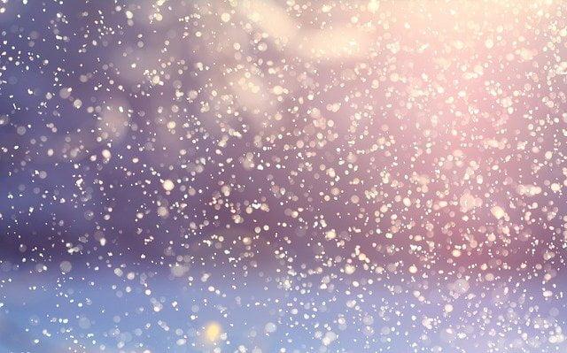 きらめく雪