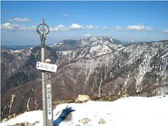 釈迦ヶ岳山頂