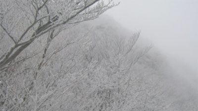 冬の高見山