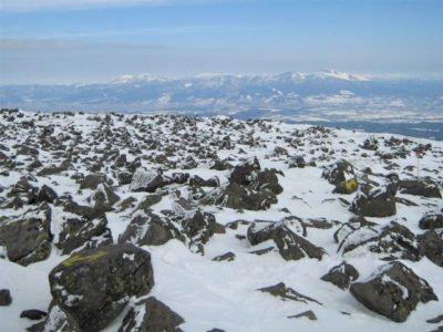 蓼科山山頂