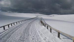 冬の美ヶ原