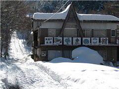 美濃戸の小屋